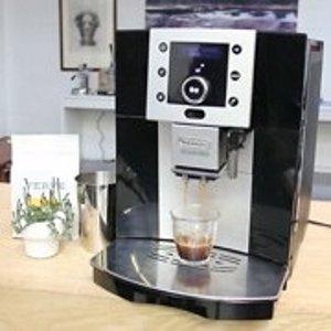 现价€459(原价€999.99)De'Longhi ESAM 5400.B 全自动意式咖啡机 附送2包咖啡豆