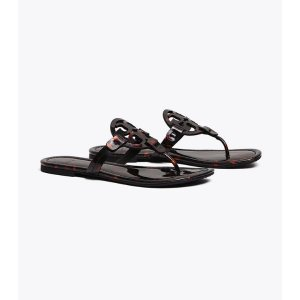 Miller Sandal, Printed Patent Leather