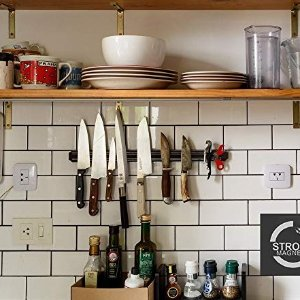 Magnetic Knife Strips, 15 Inch Magnetic Knife Storage Strip