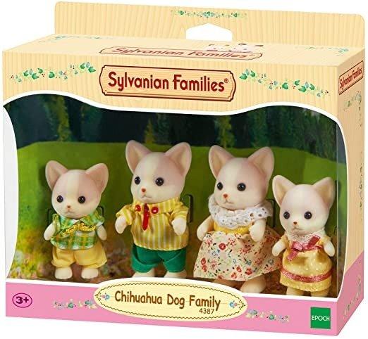 Chihuahua Dog Family,Figure