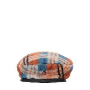 Kangol格纹贝雷帽