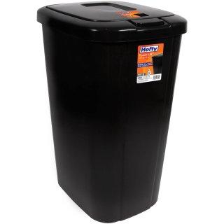 $10.98Hefty 13.3加仑垃圾桶 黑色