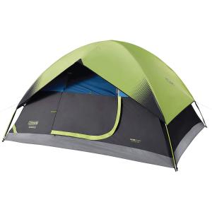 Coleman Dome 户外露营帐篷,最多可容纳6人