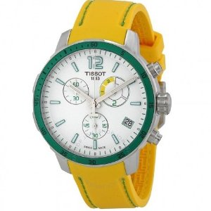Extra $40 OffTISSOT Quickster Chronograph Soccer World Cup Men's Watch T0954491703701