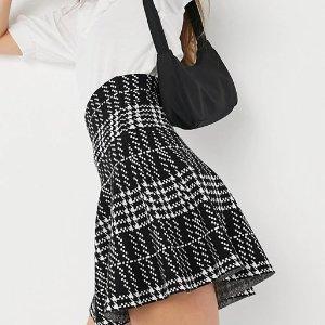 1.8折起 £6就收必备百褶裙ASOS 学院风百褶裙、格子短裙专场 get甜辣女孩Look
