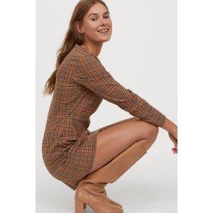 H&MLong-sleeved Dress