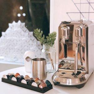$649 (原价$799)在家也可喝到意式咖啡Breville Nespresso 合作款 Creatista Plus奶泡咖啡一体机