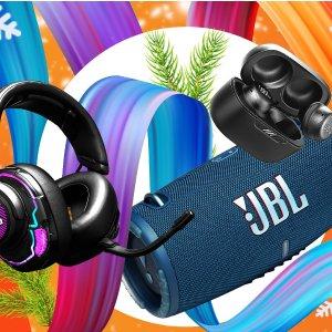 2件8.5折+折扣区可叠加JBL 圣诞大促 蓝牙音箱、耳机豆、运动耳机都参加