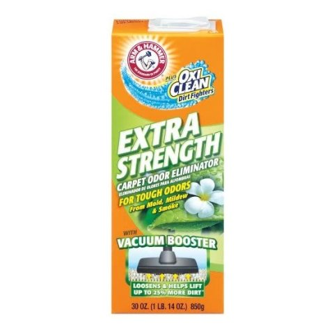 Arm & Hammer Extra Strength Odor Eliminator for Carpet and Room, 30 Ounce