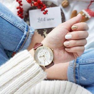 8.5折 收ins爆红玫瑰金手表独家折扣:Adexe London 英伦轻奢腕表 低调有个性