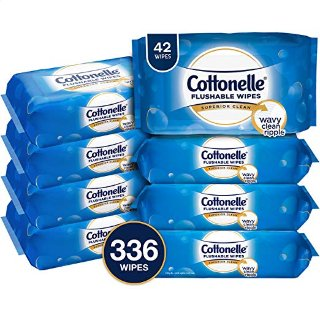 $11.63Cottonelle FreshCare Flushable Cleansing Cloths, 336 Wipes