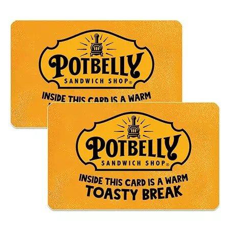 Potbelly $50礼卡