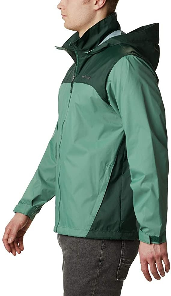 Amazon Columbia 男士拉链款冲锋衣 防水款 XL码