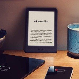 史低价:Kindle 电子阅读器 黑色款促销