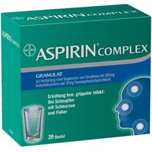 阿司匹林20片装