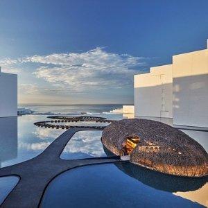 墨西哥圣卢卡斯角极简设计酒店 蜜月婚拍必备网红酒店