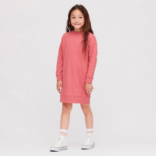 女童卫衣裙,多色选