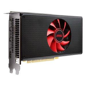 $154.99 送AMD 2游戏大礼包MSI Radeon RX 580 8G V1 显卡