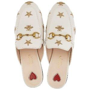 Gucci爆款!!小蜜蜂爱心穆勒鞋