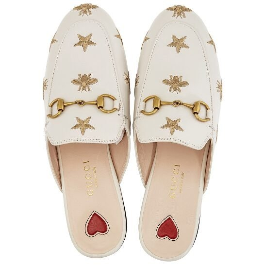 小蜜蜂爱心穆勒鞋