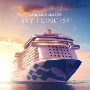 Last Minute Deal As low as $169Princess Cruise Line New Flagship Sky Princess