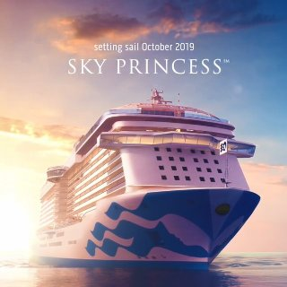 Last Minute Deal As low as $319Princess Cruise Line New Flagship Sky Princess