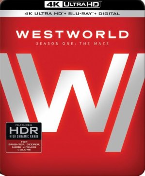 $29Westworld: The Complete First Season [4K UHD Blu-ray]