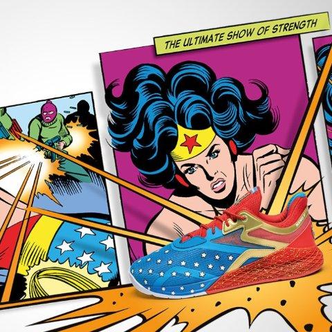 封面最新款€150上新:Reebok x Wonder Woman™ 神奇女侠合作系列又来新鞋