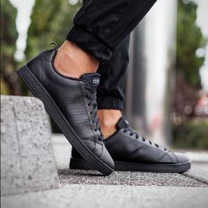 $31.34(原价$65)adidas Neo Advantage Clean 童款小黑鞋13K码