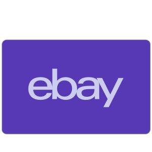 限时9折速抢:eBay礼品卡热卖  囤卡过19周年庆