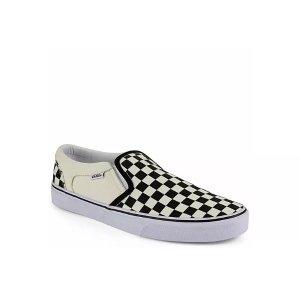 VansOFF WHITE VANS Mens Asher Slip On Sneaker