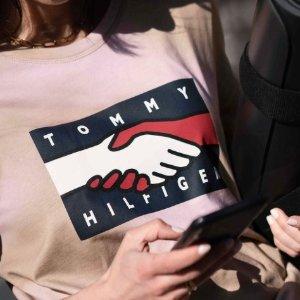 8折!T恤£28 背带裙£52Tommy Hilfiger官网 季中大促 简约T恤、卫衣、外搭等速收