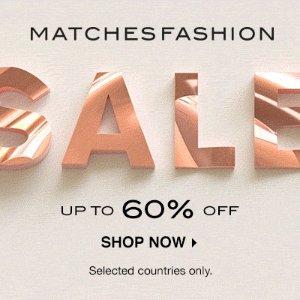 低至4折+额外8折 手慢无2021来啦:Matchesfashion火柴网 时尚大促 Chloe墨镜$158