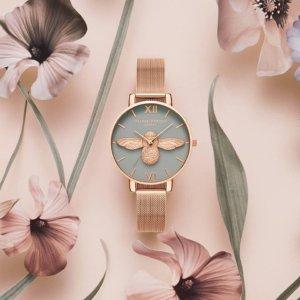 7.5折+直邮中国新春囤货节 Olivia Burton 小众腕表首饰,多款蜜蜂手表可选