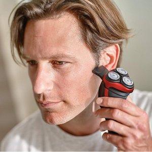 现价£50(原价£110)Philips Series 3000 干湿两用电动剃须刀