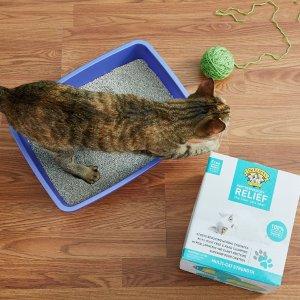 低至5.5折 可叠加首单订阅7折优惠Chewy 精选猫砂及用品网络周促销