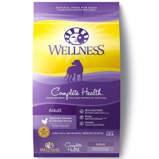 $17.10Wellness Complete Health 鸡肉燕麦味狗粮 15磅