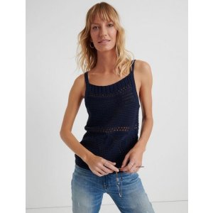Lucky Brand JeansCrochet Sweater Tank | Lucky Brand