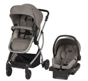 $199.97(原价$369.99)史低价:Evenflo 可折叠婴儿手推车 + 婴儿座椅套装