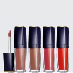 New Arrival!Receive 4 Pure Color Envy Paint-On Liquid LipColors for the price of 1 @ Estee Lauder