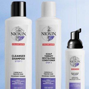 $42(原价$51.99)Nioxin 漂发染发套装 染色、固色双管齐下 漂发不伤发