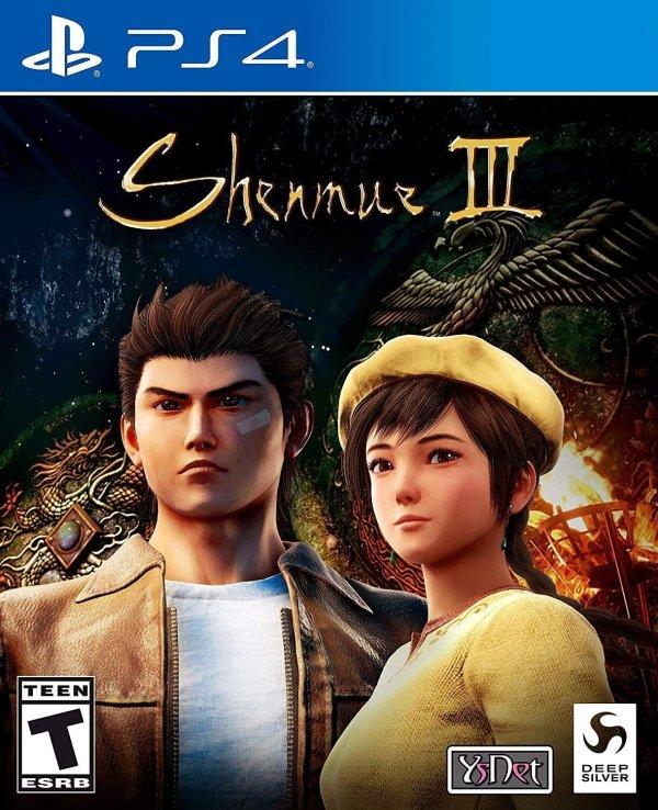 《莎木3》PS4 实体版