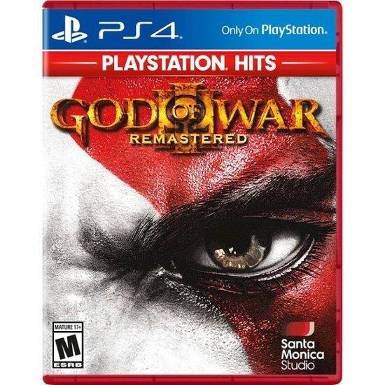 战神3 重制版 PS4 实体版