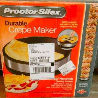 proctor silex 一机多用煎饼果子机☺