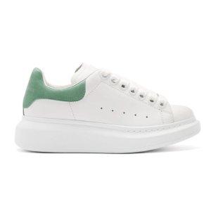 $380起 多色码全上新:SSENSE麦昆小白鞋定价优势专场,男款最新配色上市开卖