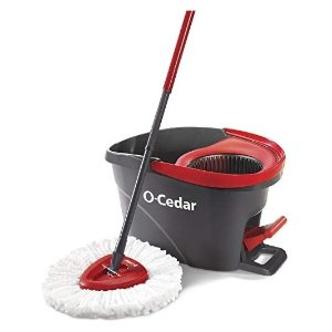O-Cedar 超细纤维旋转拖把清洁套组