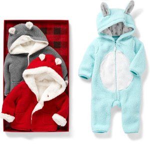 Up to 60% Off + Extra 20% Off $40+ & Fun CashCarter's Kids Outerwear and Cold Weather Accessories