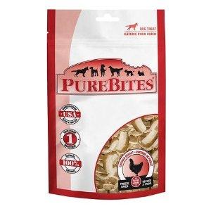 全场8折 + 订阅9.5折PureBites 宠物冻干小零食促销热卖
