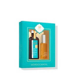 Moroccanoil满$200送10周年护发套装