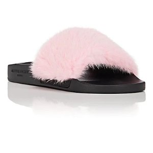 82e5888a978 Barneys New York offers up to 40% off + Extra 30% Off GIVENCHY sale. Free  shipping. GivenchyWomen's Mink Fur Slide Sandals